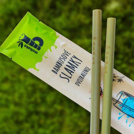 Bambusové slamky, mobake