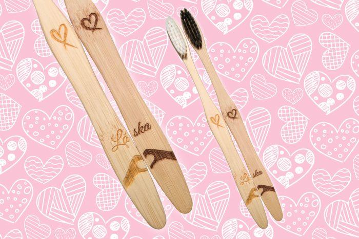 Kefky pre Milovaných, valentin, 14. februar, bambusove kefky, bambusova kefka, mobake