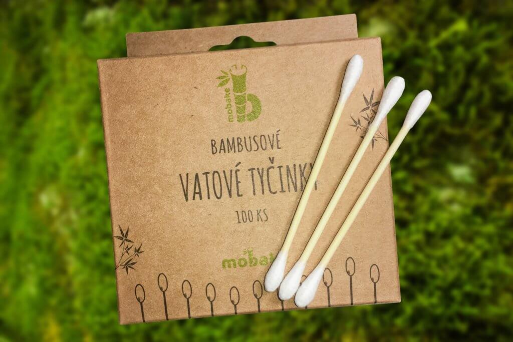 Bambusové tyčinky do uší