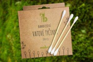 Bambusové vatové tyčinky