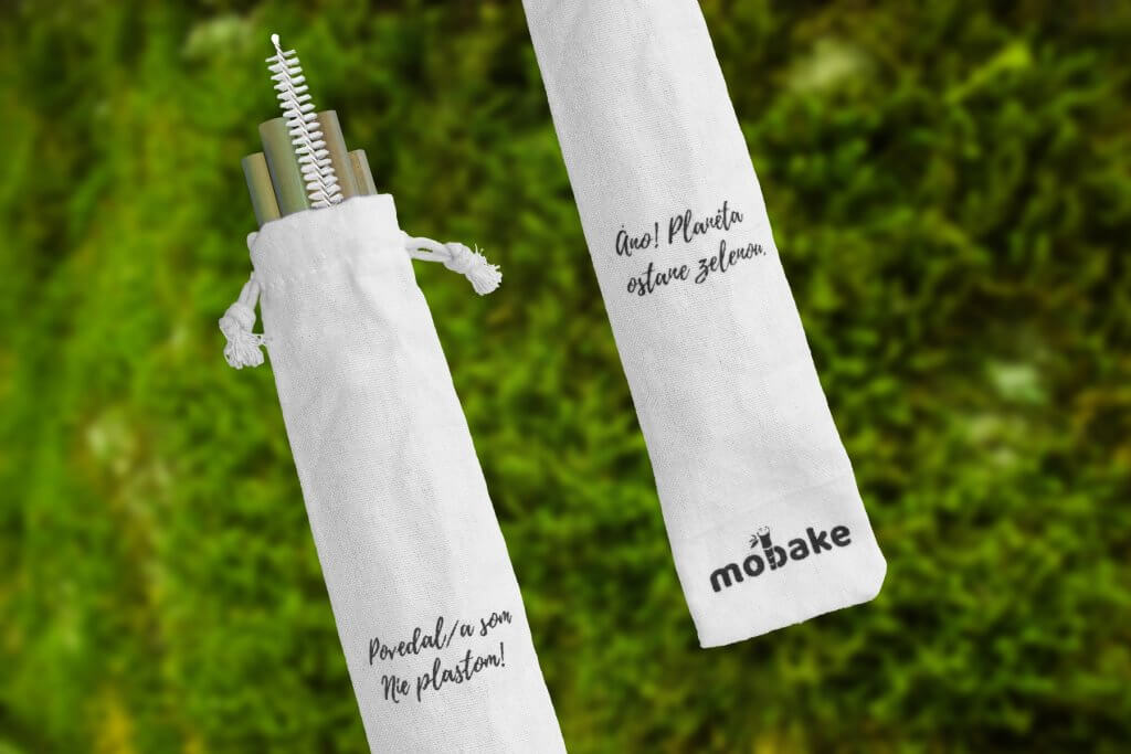 4x slamka Mobake vo vrecku