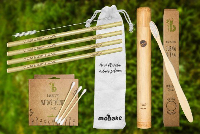 Zero waste balíček, bambusová tuba, cestovná tuba, cestovna tuba, zubna kefka, bambusova kefka, drevena kefka, bambusove tycinky do usi, ekologicke vatove tycinky, bambusove slamky, eko slamky, cistiaca kefka