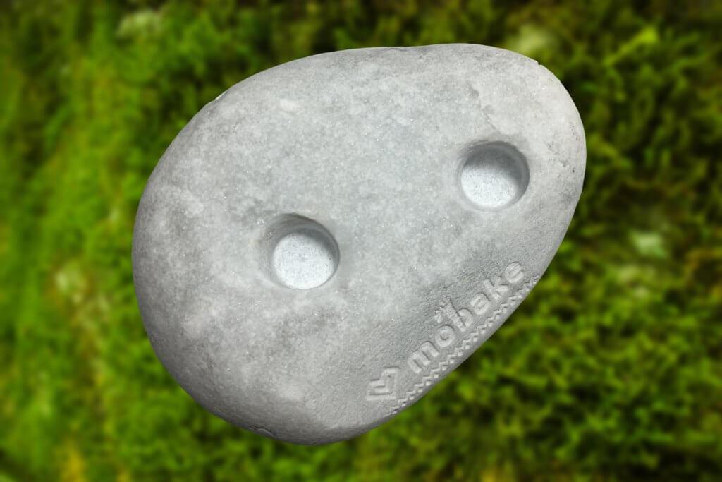 Kamenný stojan na 2 kefky