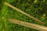 Bambusove slamky dvoj balenie Mobake, vegan bambusove slamky, ekologicke slamky, slamky na pitie napojov, opakovatelne pouzitelne slamky, eko slamka, bambus, bambusove produkty, zero waste slamka