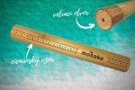 bambusová cestovná tuba čičmany, mobake