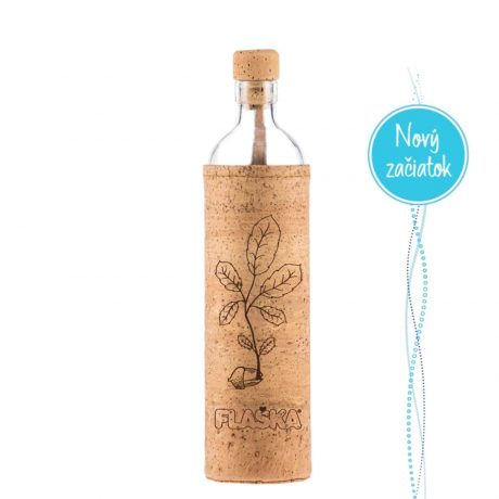 Flaska New beginnig, novy zaciatok, mobake