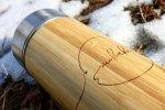 bambusova termoska
