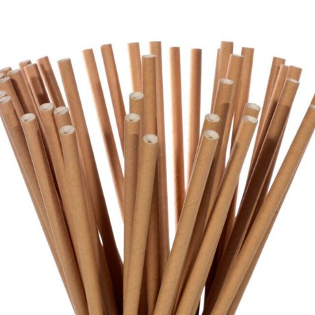 papierové slamky natural, mobake