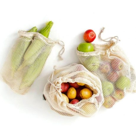 Sieťovka na Ovocie, mobake, bavlnená taška, mash taska, eko taška na nakupy