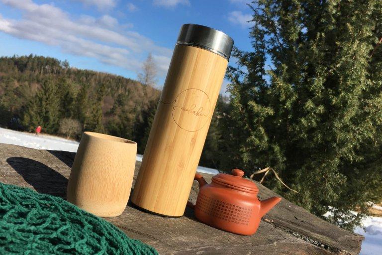 termoska mobake, bambusova termoska, eko termoska