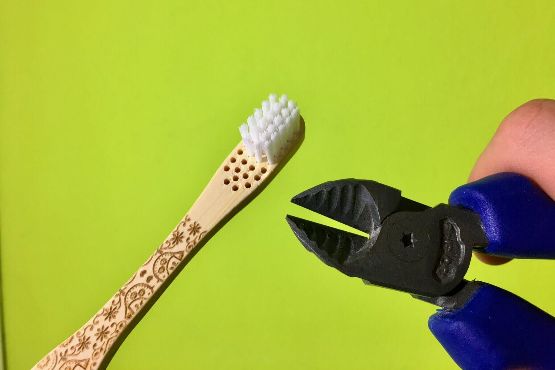 Ako zrecyklovať bambusovú zubnú kefku, recyklacia kefky, kde zahodiť bambusovu kefku