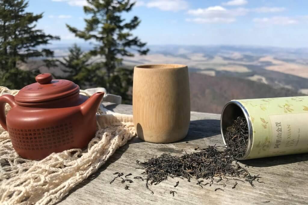 Bambusový pohárik