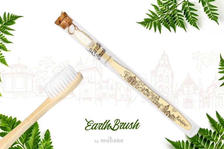 EarthBrush Kosice, Mobake, bambusové kefky, ekologicky suveniry, slovensky suvenir, suvenir zo slovenska, suvenir kosice, vegan, eco, paprad, bambus,