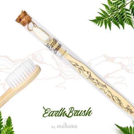 EarthBrush Tatry, Mobake, bambusové kefky, ekologicky suveniry, slovensky suvenir, suvenir zo slovenska, suvenir vysoke tatry, vegan, eco, paprad, bambus,