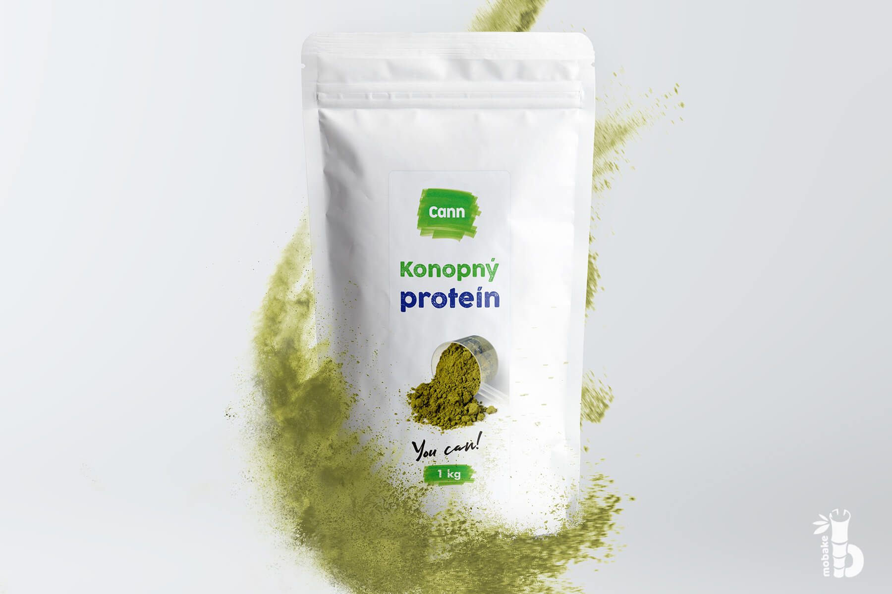 CANN Konopný proteín 1000 g