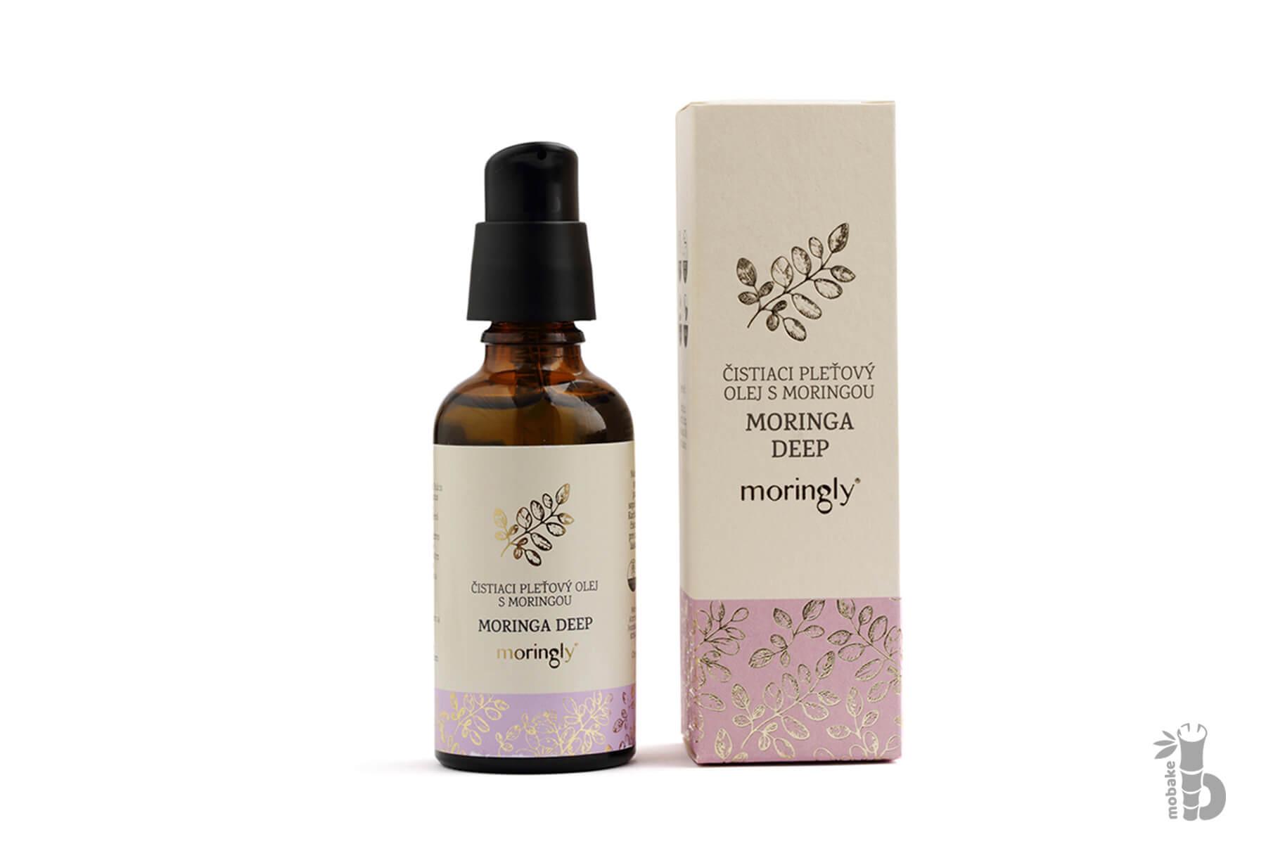 Moringly MORINGA DEEP | Čistiace pleťový olej s Moringou 30 ml