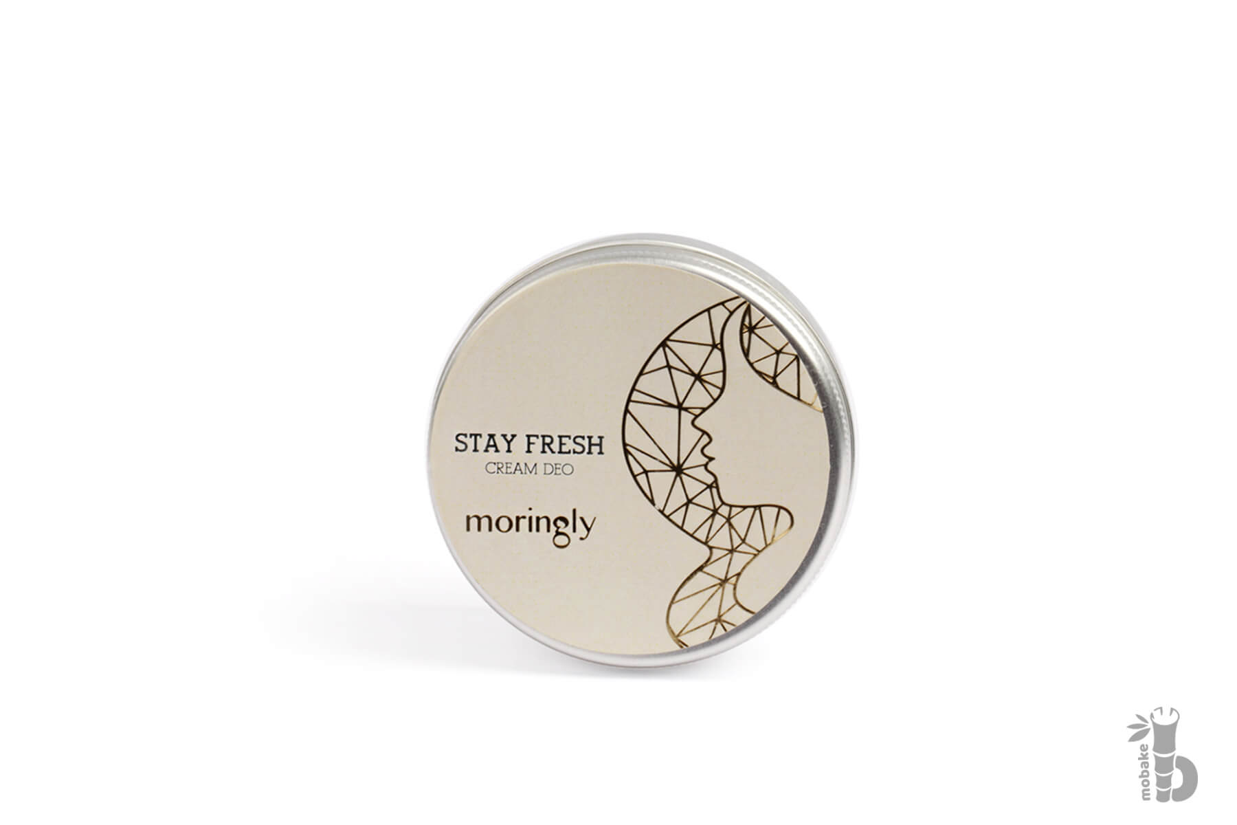 Moringly MORINGA STAY FRESH | Krémové DEO unisex 50ml