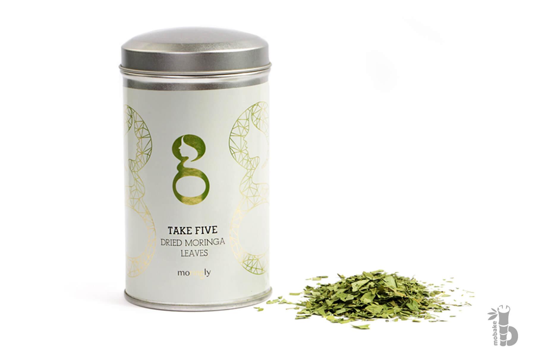 Moringly MORINGA TAKE FIVE | Sypaný čaj z Moringy | 40 g