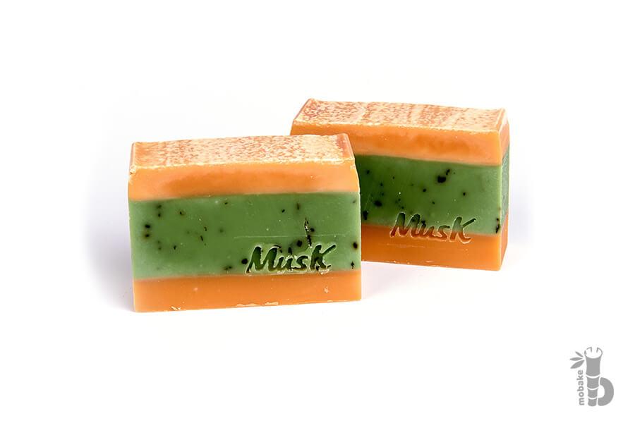 Musk Pomarančová sviežosť prírodné mydlo 100 g