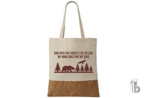 Korková taška Forest