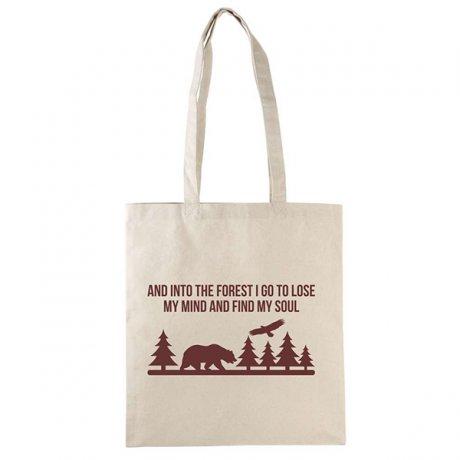 Plátená taška forest