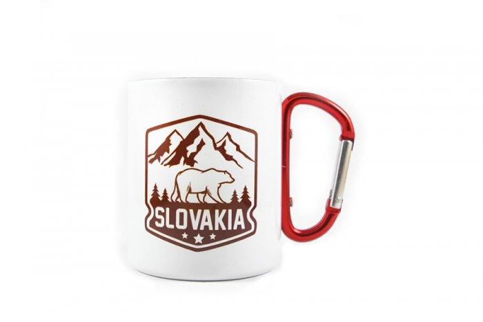 Nerezový termo hrnček Slovakia