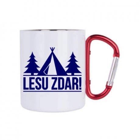 nerezovy hrncek s karabinou Lesu zdar Mobake.sk