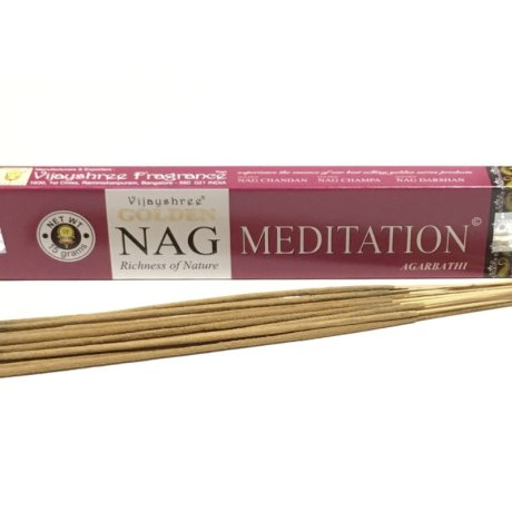 Golden Nag Vonné tyčinky meditaion 15g